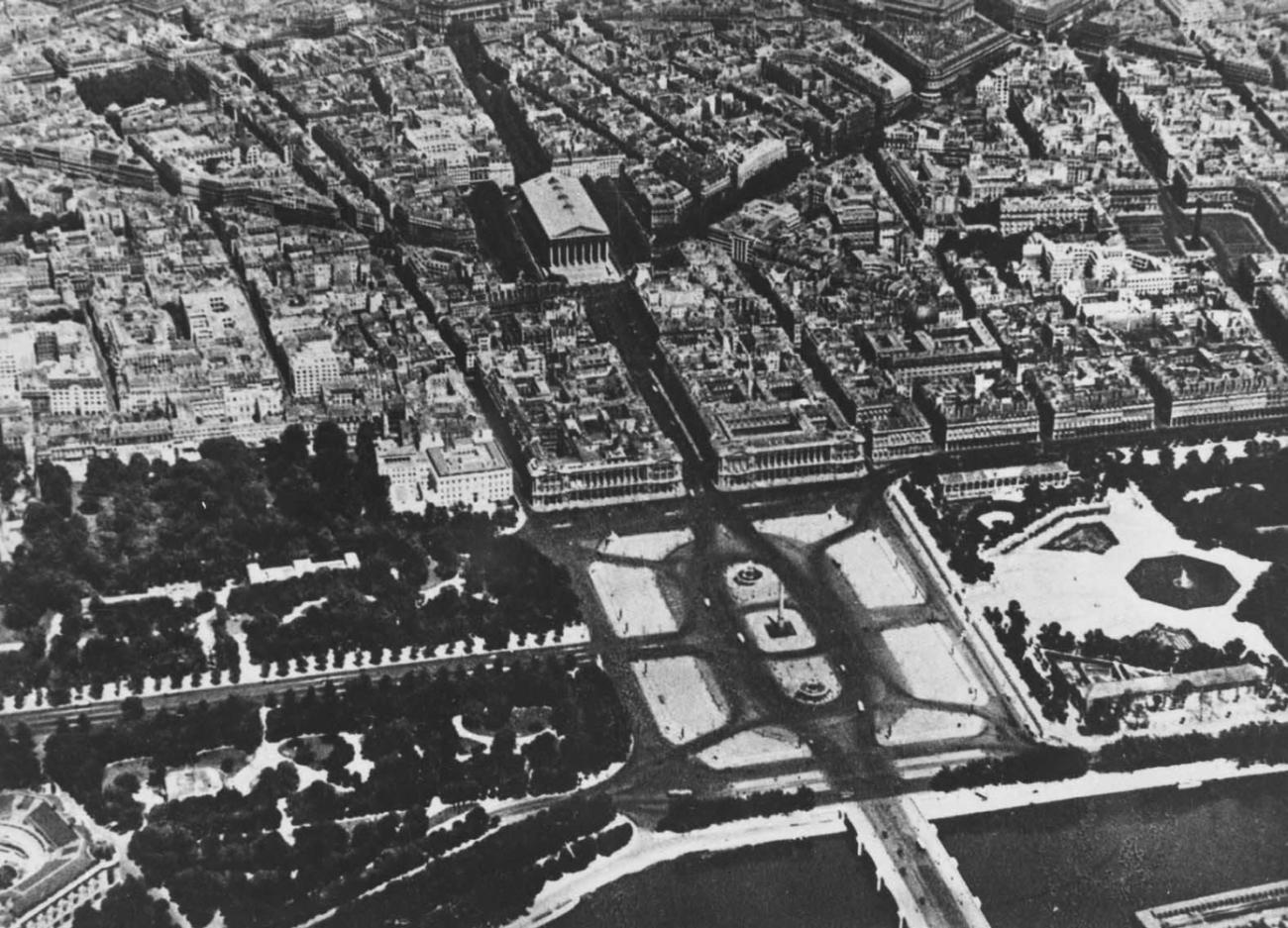 Ж. А. Габриель. Площадь Согласия в Париже. 1755 - 1763.