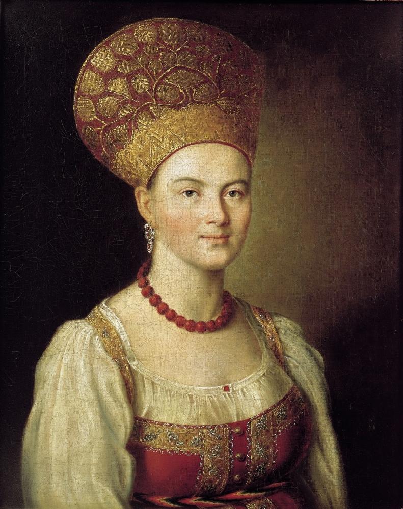Портрет неизвестной крестьянки, 1784