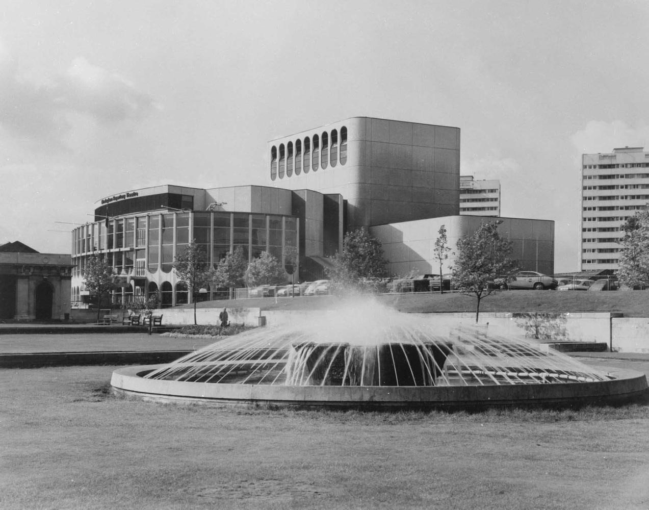 Театр в Бермингеме. 1972.