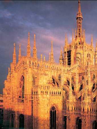 Собор в Милане. 1386–1856гг.