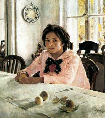 В. А. Серов. «Девочка с персиками». 1887г. Государственная Третьяковская галерея. Москва