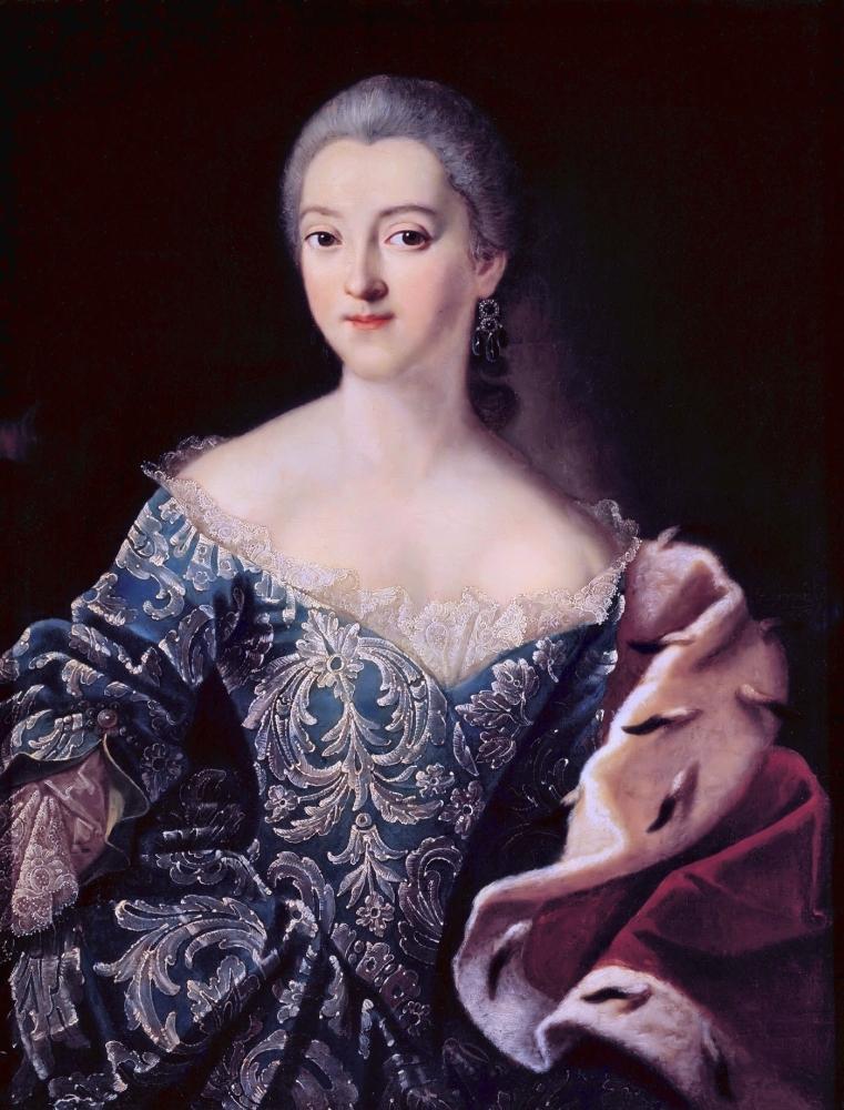 Портрет княгини Екатерины Александровны Лобановой-Ростовской, 1754