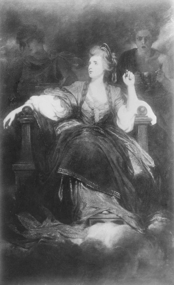 Дж. Рейнолдс. Портрет актрисы Сары Сиддонс. 1783 - 1784. Галерея Хантингтон. Сан-Марино. США.