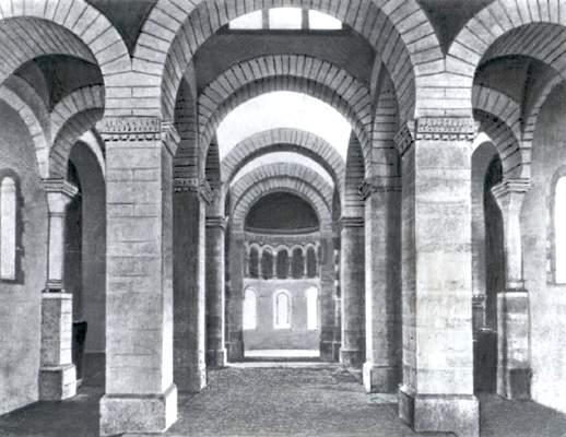 Ораторий вЖерминьи-де-Пре (Франция).