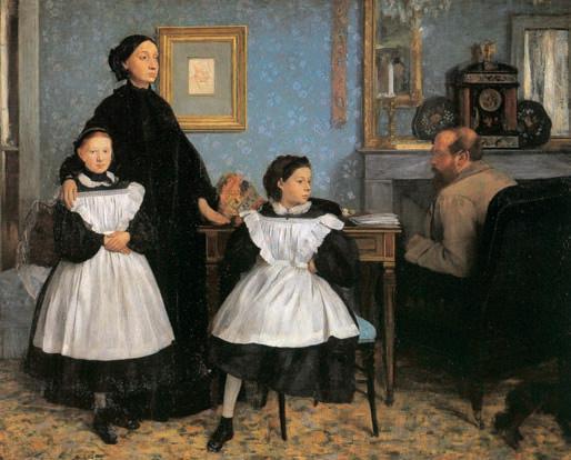 Э. Дега. «Семейство Беллелли». 1860—62гг. Музей д'Орсэ. Париж