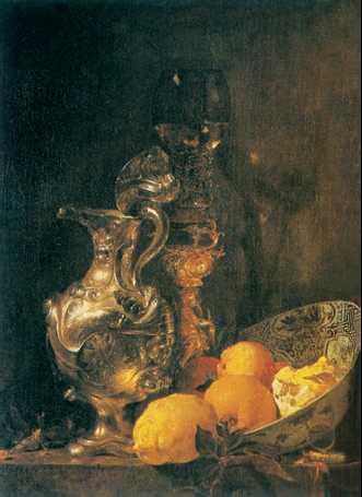 В. Калф. «Натюрморт». 1643г. Рейксмузеум. Амстердам