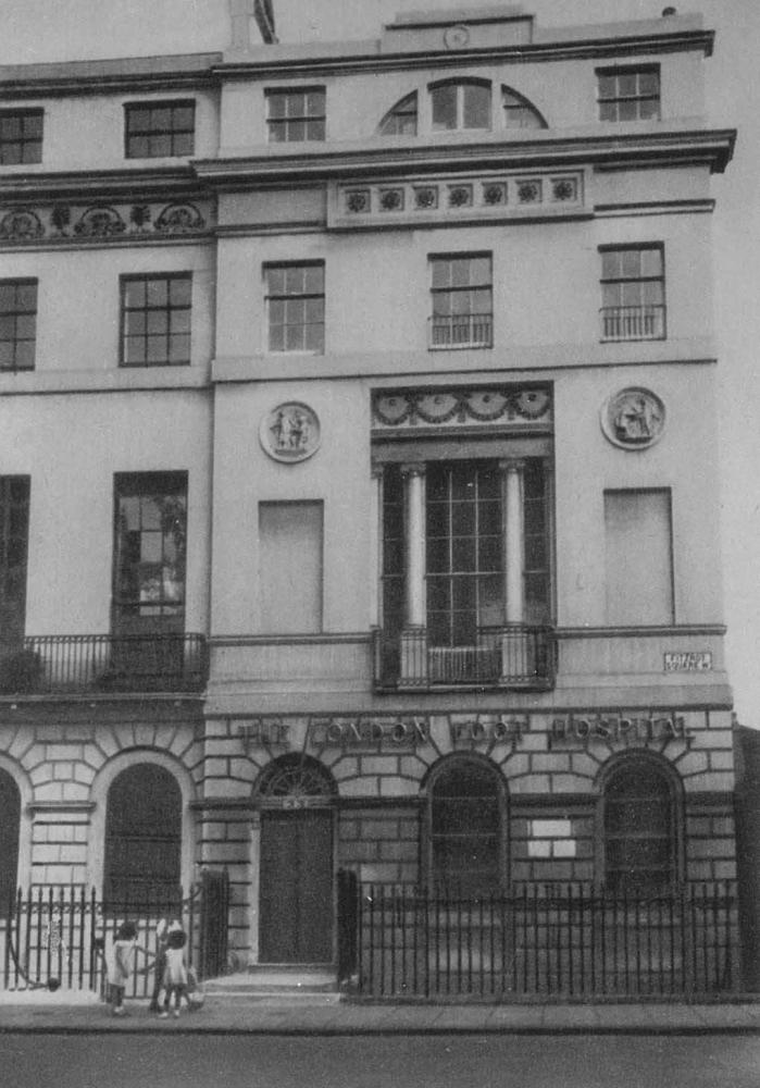 Дом на Фицрой-сквер в Лондоне. Около 1790 - 1800.