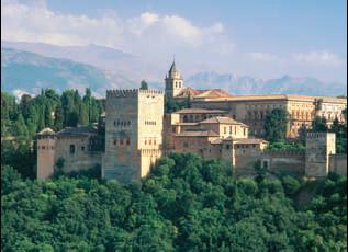 Дворцовый комплекс Альгамбра близ г. Гранада. Сер. 13–14вв.