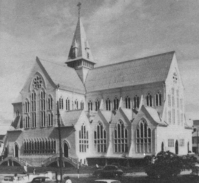 А. Бломфилд. Собор Сент-Джордж в Джорджтауне. 1889 -1892.