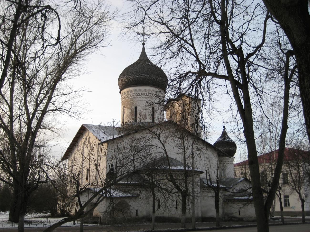 Церковь Николы со Усохи. 1536.