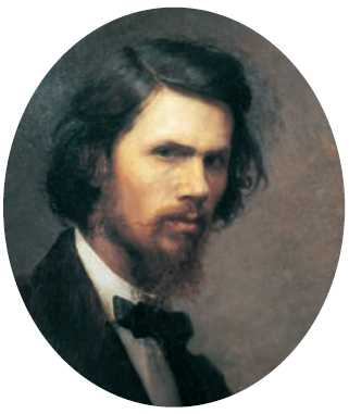 И. Н. Крамской. «Автопортрет». 1867г. Государственная Третьяковская галерея. Москва