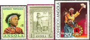 Почтовые марки Анголы