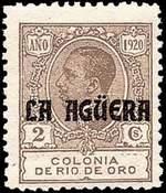 Почтовая марка Агергер