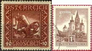 Почтовые марки Австрии