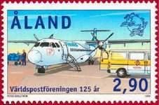Почтовая марка Аландских о-вов