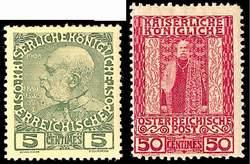 Австрийская почта на Крите