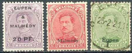 Почтовая марка Эйпена и Мальмеди