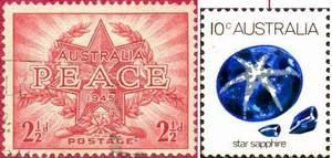 Почтовые марки Австралии
