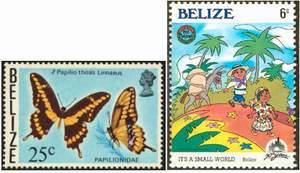 Почтовые марки Белиза