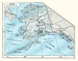 Аляска. Экономическая карта