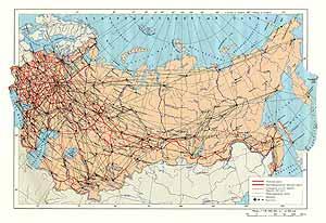 Железнодорожный и авиационный транспорт СССР