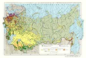 Карта мелиорации СССР
