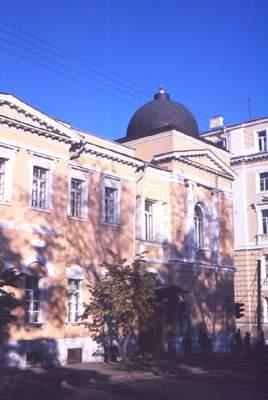 Здание Российской академии музыки имени Гнесиных.