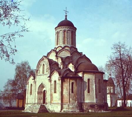 Спасский собор Андроникова монастыря.